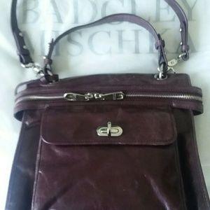 Badgley Mischka Leather HandBag
